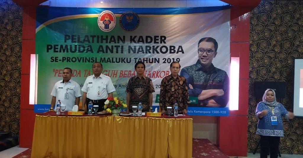 Pelatihan Kader Pemuda Anti Narkoba di Maluku