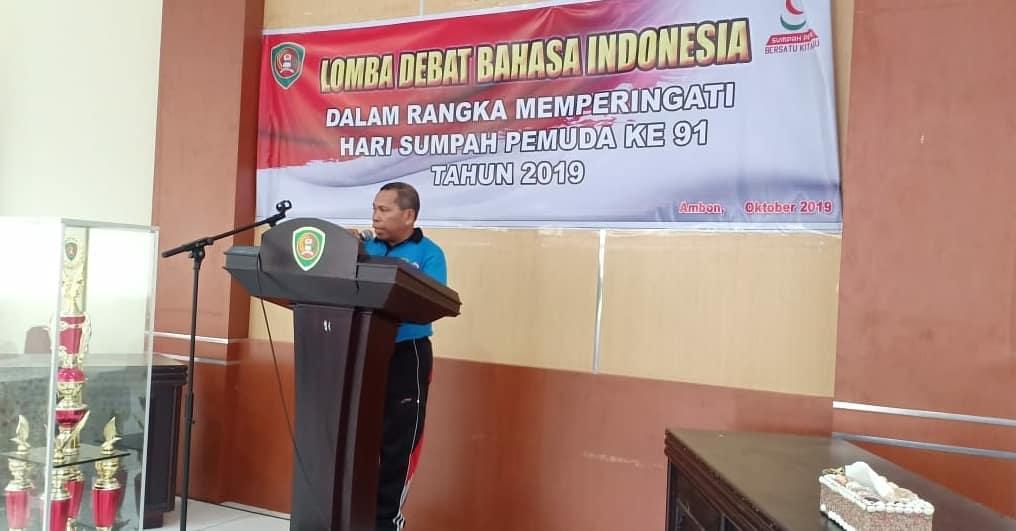 Lomba Debat Bahasa Indonesia dan Bahasa Inggris dalam rangka Hari Sumpah Pemuda ke-91