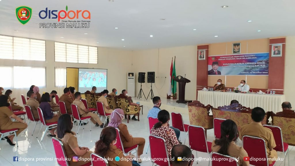 Dispora Maluku terima Kunjungan anggota DPD RI Dr.Nono Sampono