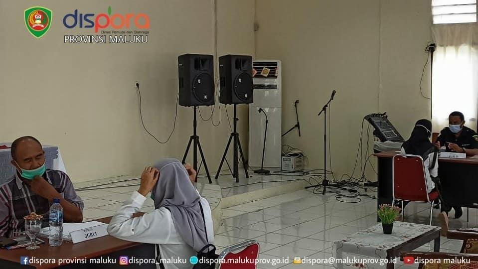 Seleksi Jambore Pemuda Indonesia Provinsi Maluku