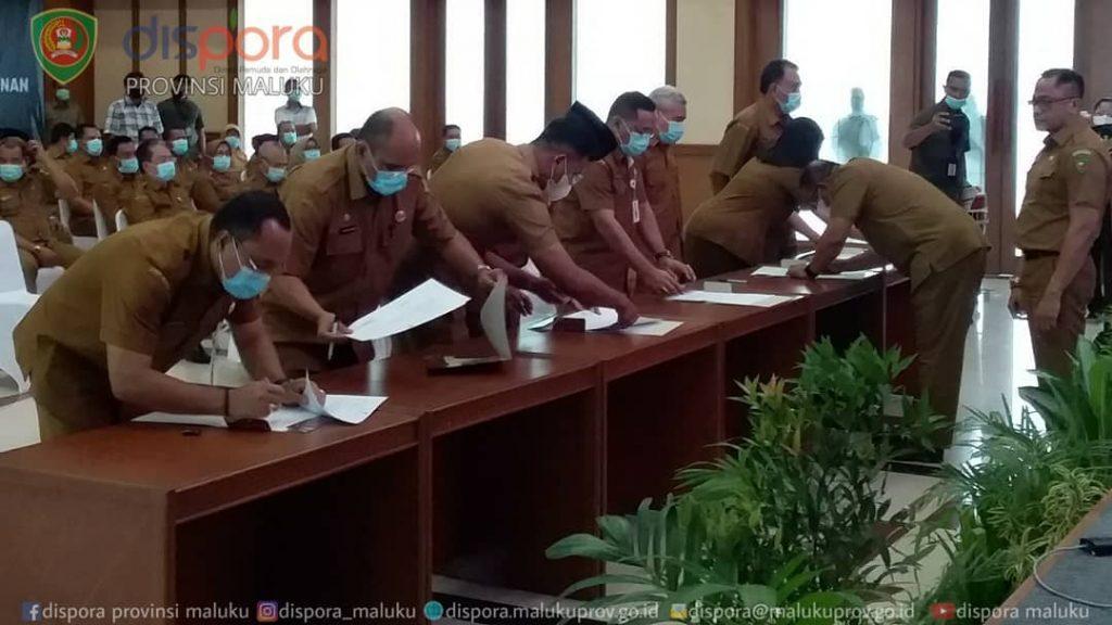 Penandatanganan Perjanjian Kinerja (PK)