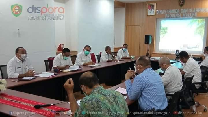 Dispora Maluku dan KONI Maluku Rapat PON PAPUA