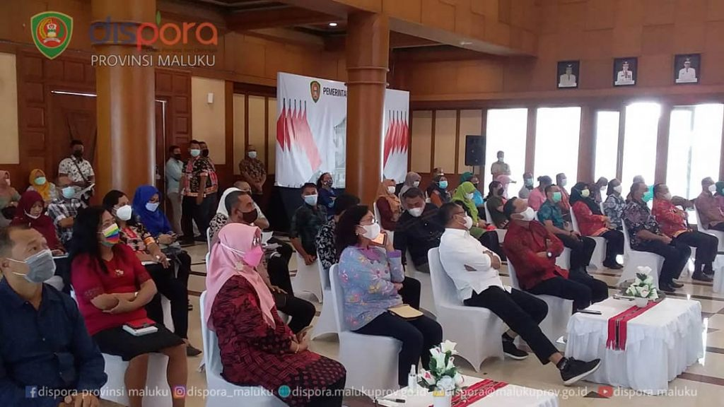 Ka.Dispora Maluku menghadiri Rapat Koordinasi Digitalisasi Layanan Kepegawaian