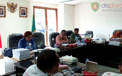 Rapat Kerja dengan Komisi IV DPRD Maluku 4 Juni 2021