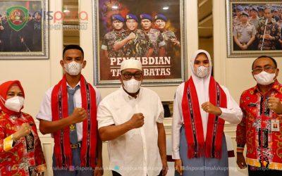 Putra Putri Maluku  Calon Paskibraka Nasional Tiba di Jakarta