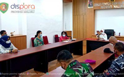 Rapat Menjelang Pembukaan Diklat Paskibraka tingkat Provinsi Maluku